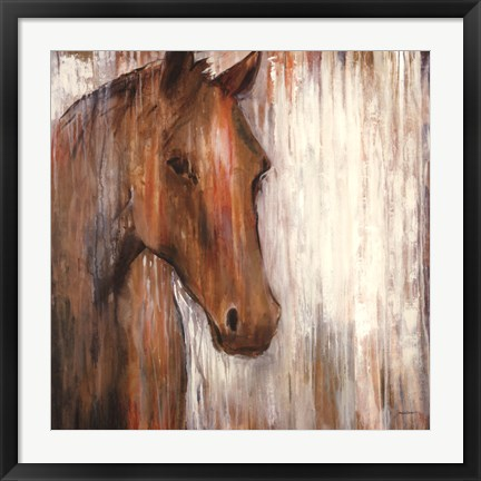 Framed Painted Pony Print