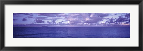 Framed Nature's Colors-Ocean Beneath the Sky Print