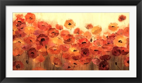 Framed Summer Poppies Print
