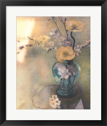Framed Poppies and Spring Blossoms Print