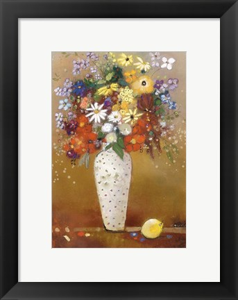Framed After Redon Print