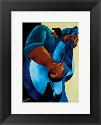 Framed Just Pickin? Print