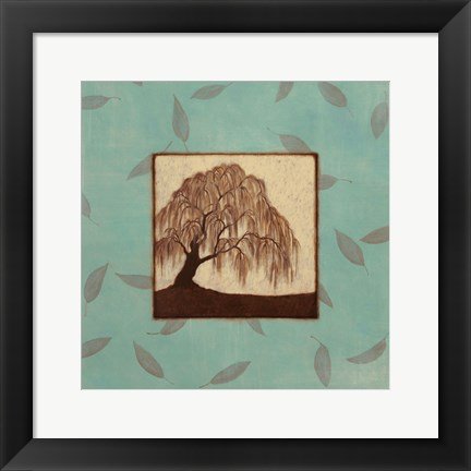Framed Willow Print