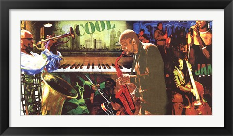 Framed Cool Jazz Print