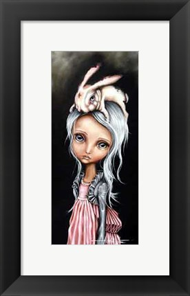 Framed Bunny Couture Print