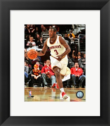 Framed Dion Waiters Dribbling The Basketball Print
