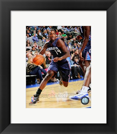 Framed Michael Kidd-Gilchrist with the ball 2012-13 Print