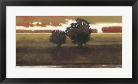 Framed Panoramic Horizon II Print