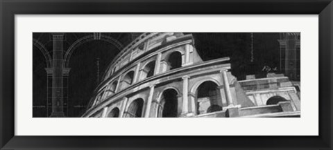 Framed Iconic Architecture I Print