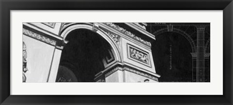 Framed Iconic Architecture II Print