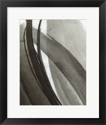 Framed Ink Abstract I Print