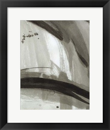 Framed Ink Abstract II Print