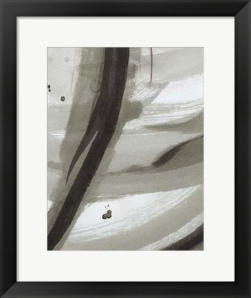 Framed Ink Abstract IV Print