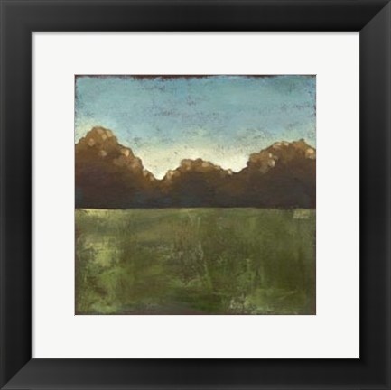 Framed Rural Retreat IV Print