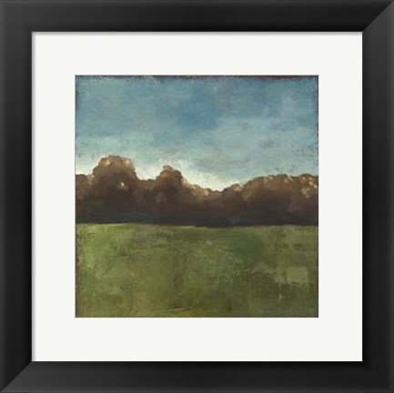 Framed Rural Retreat V Print