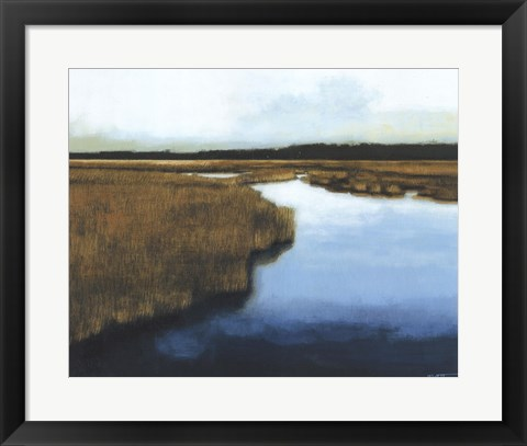 Framed Wet Lands I Print