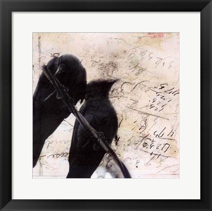 Framed What Crows Reveal II Print