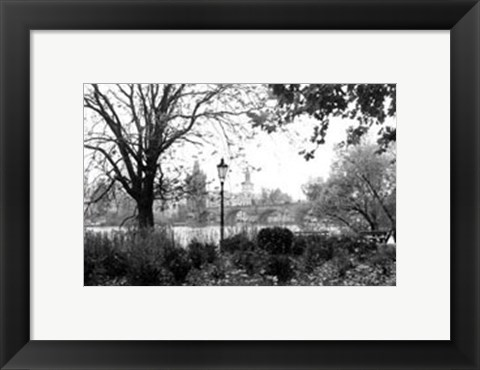 Framed Early Morning Riverwalk Print