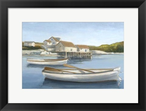 Framed Tranquil Waters I Print