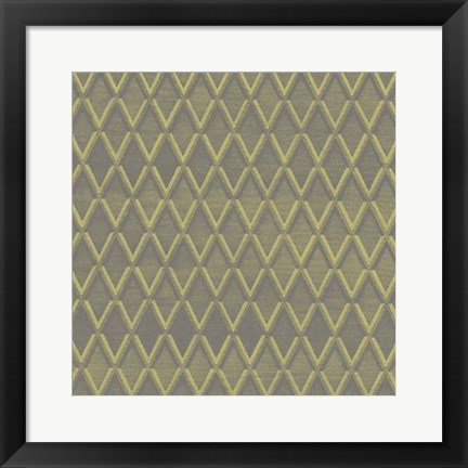 Framed Graphic Pattern IV Print