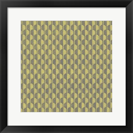 Framed Graphic Pattern VII Print