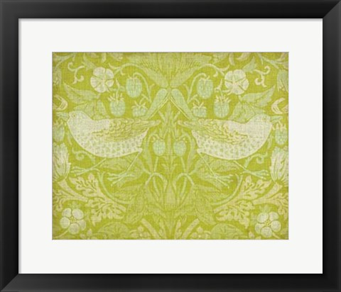 Framed Citrus Chintz II Print