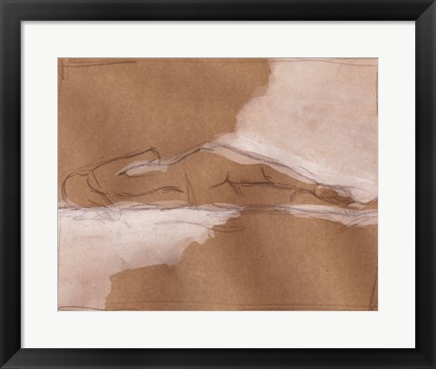 Framed Compositional Figure Study II Print