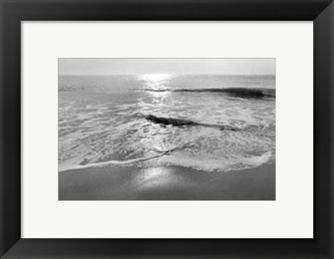 Framed Ocean Sunrise II Print