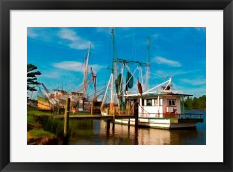 Framed Safe Harbor I Print