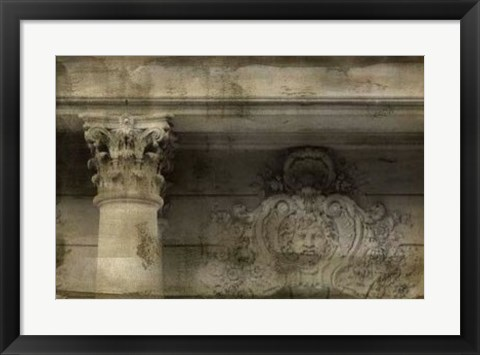 Framed Ornate Architecture II Print