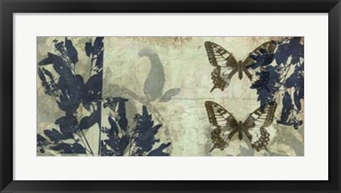 Framed Butterfly Reverie I Print
