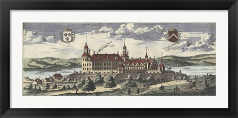 Framed Dahlberg Swedish Estate II Print