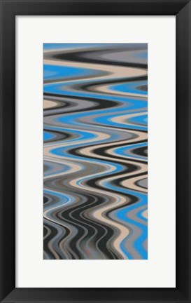 Framed River Runs Deep II Print