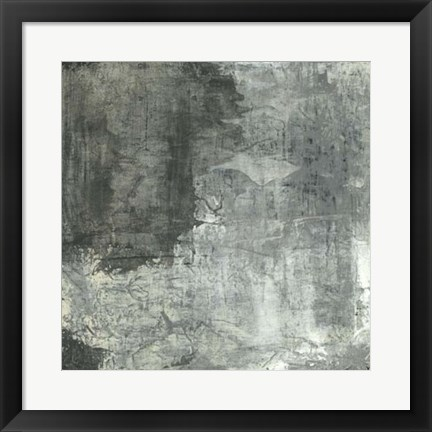 Framed Gray Abstract II Print