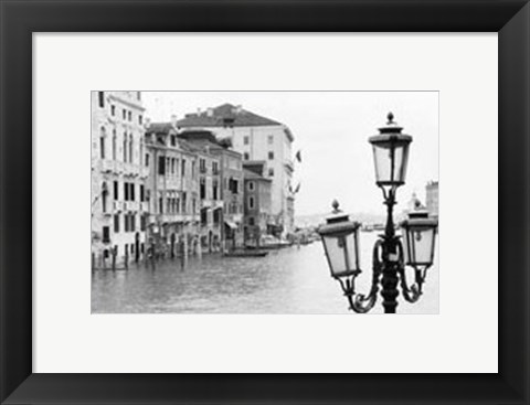 Framed Waterways of Venice XI Print
