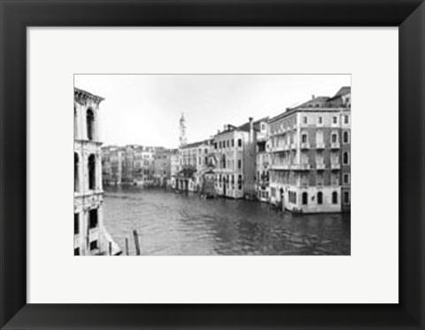 Framed Waterways of Venice XII Print