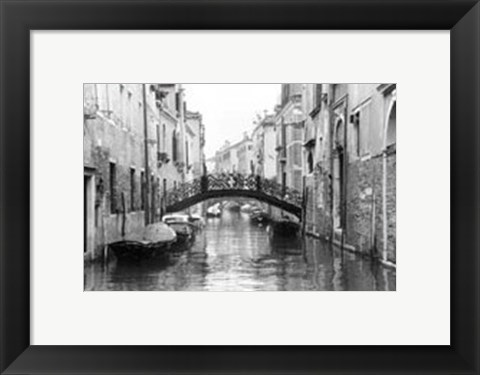 Framed Waterways of Venice XVII Print