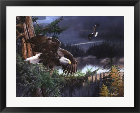 Framed Wings of Freedom Print