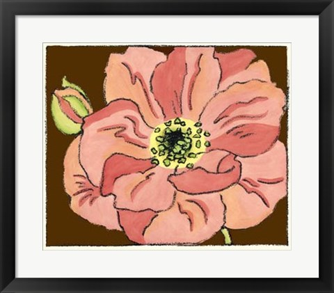 Framed Petal Poetry II Print