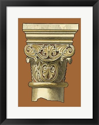 Framed Graphic Capital IV Print