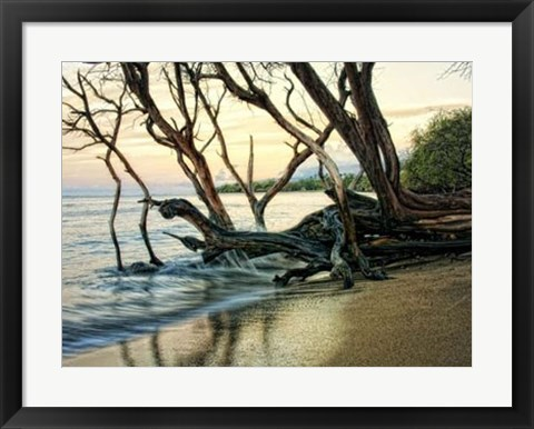 Framed Reaching for the Sea I Print