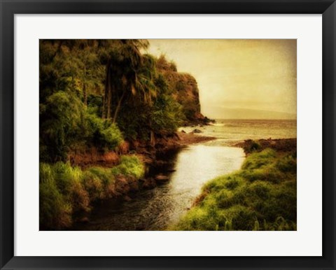 Framed To the Sea Print