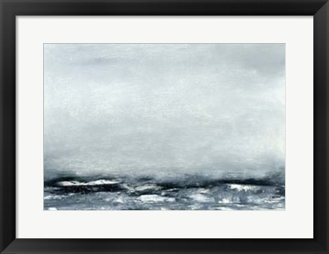 Framed Sea View IV Print