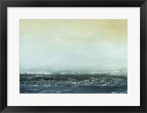 Framed Sea View VI Print