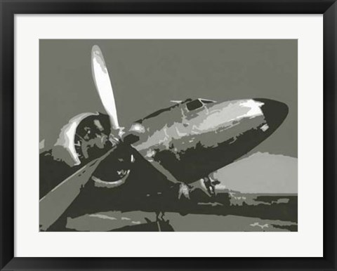 Framed Classic Aviation I Print