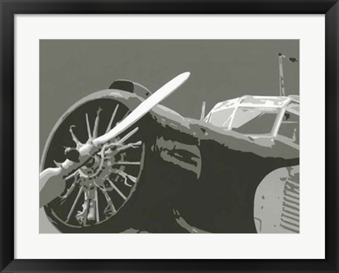 Framed Classic Aviation II Print