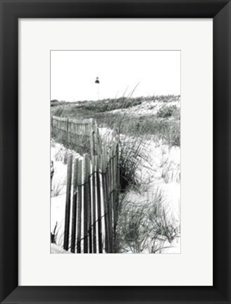 Framed Cape May Lighthouse II Print