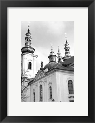Framed Splendors of Prague II Print