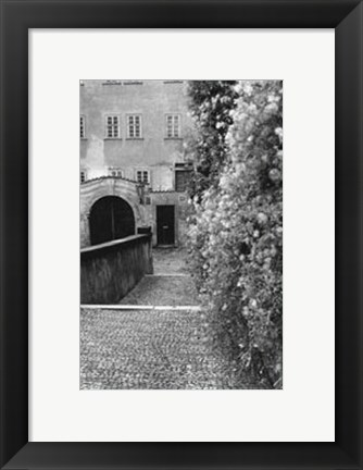 Framed Passing through Prague II Print