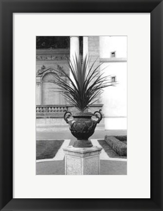 Framed Royal Urn I Print